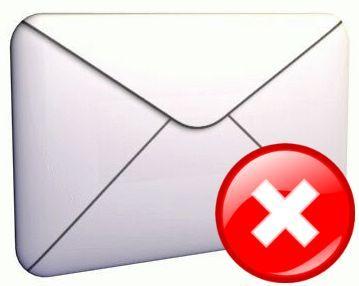 Error email