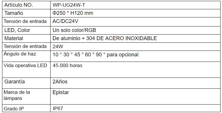 WP-UG24W-T